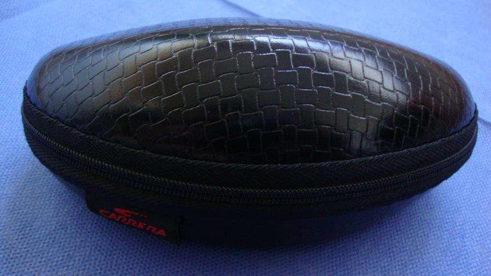 ef6c6980cf6f6 Óculos Carrera Champion preto brilhante com risca Branca Amadora - imagem 7