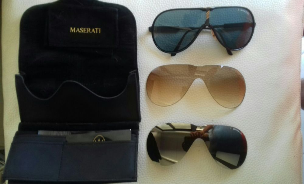 Masserati vintage - Talhadas - Óculos de sol masserati como novos  Coleccionador amantes da marca Originais b0f83a505a