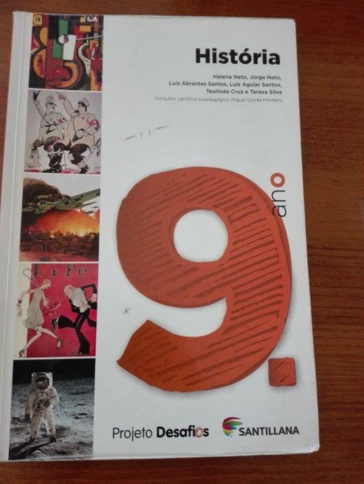 Livro/Manual de história 9º ano