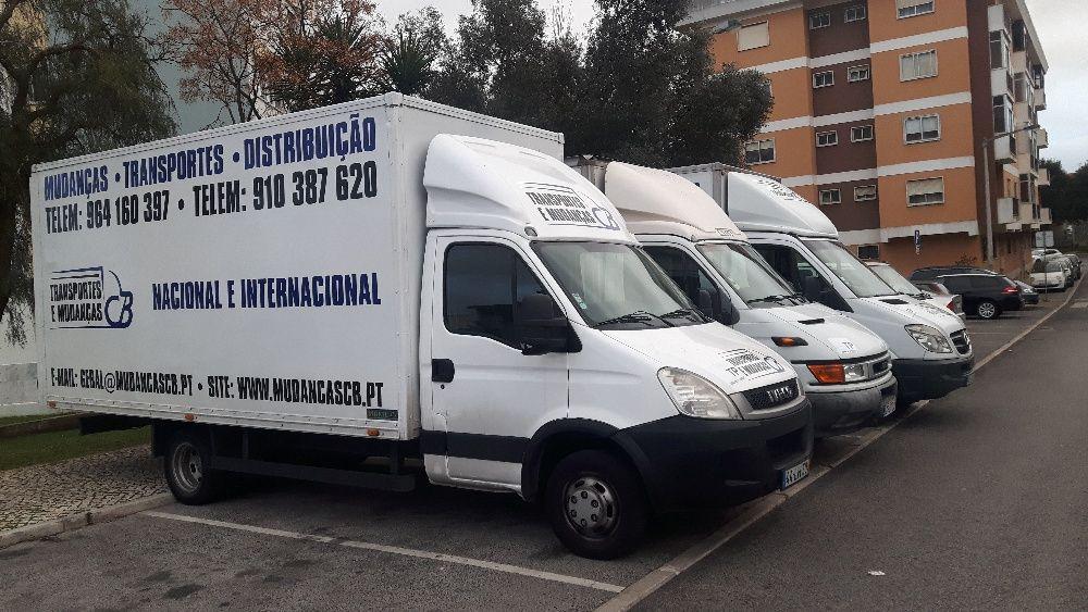 Transportes e Mudanças - Lisboa - Porto