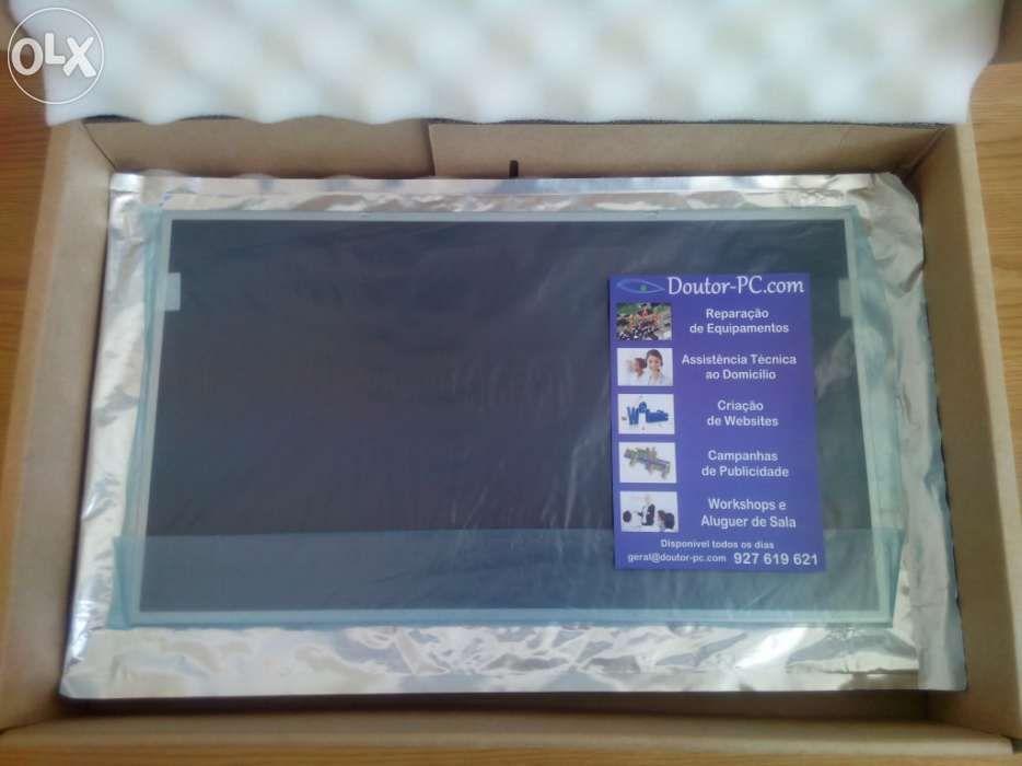 Ecran vidro tela monitor lcd 15.6 novo portátil garantia 2 anos fatura