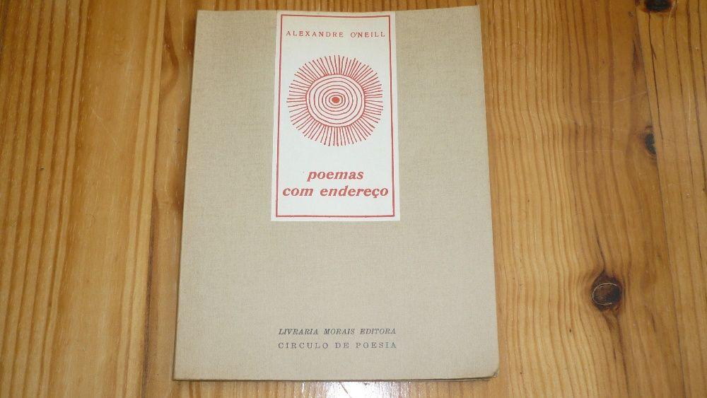 Poemas Com Endereço (1ª edição) - Alexandre O`Neill