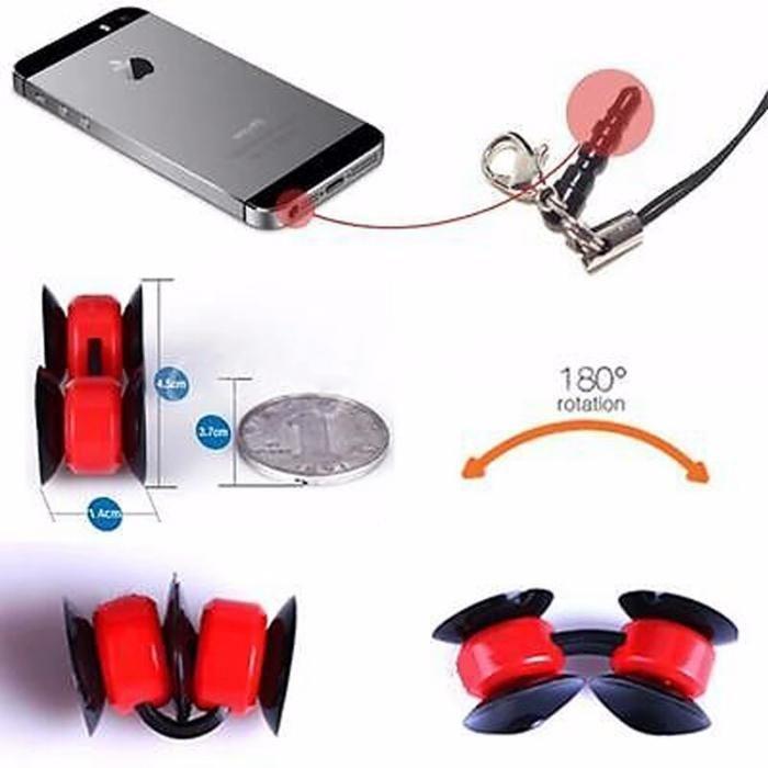 Mini ventosas para telemóvel