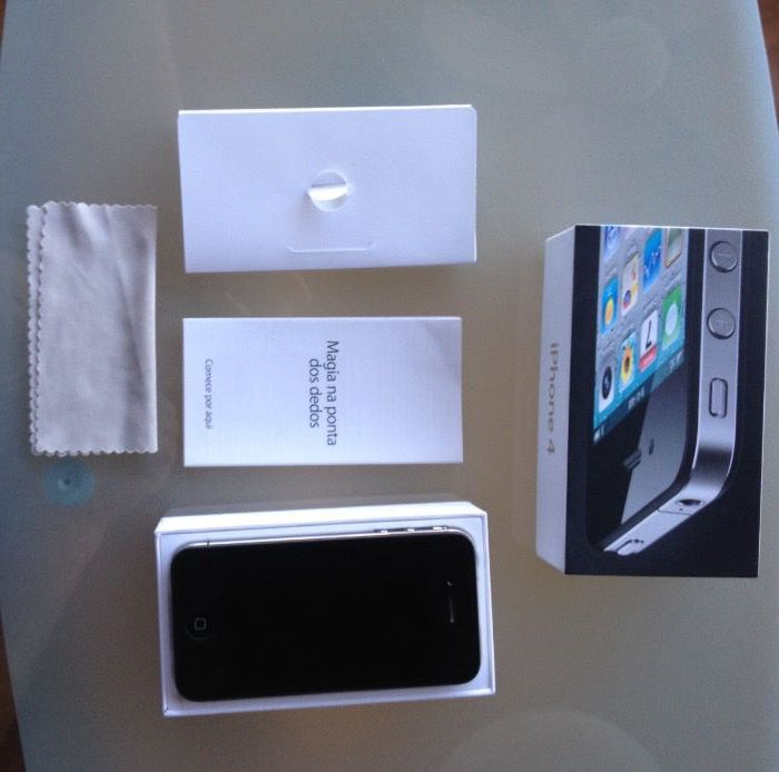 iPhone 4 16 Gb Preto Vodafone