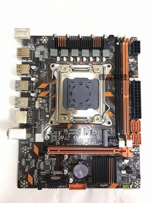 Материнская плата lga 2011v3 X99 Ddr4 Ecc Reg Atermiter Huanan E5 Xeon