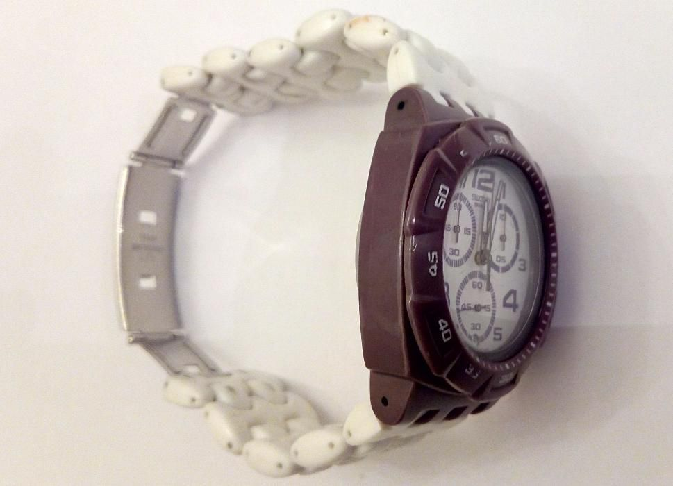 8b49d10278c Relógio Swatch Chrono Plastic Purple Funk (SUIV400) Lisboa - imagem 4