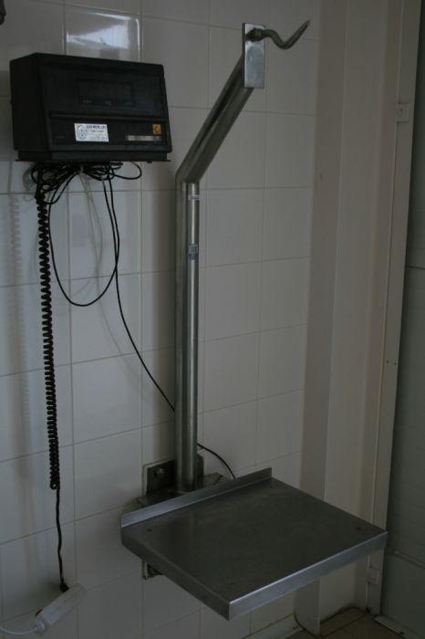 Balança de talho- bascula c/ gancho e plataforma, visor digital