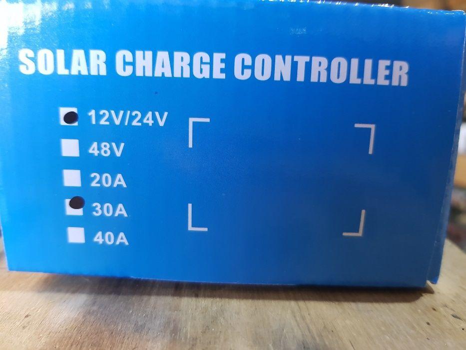 Controlador solar 10--30 amperes novos garantia 3 anos Fernão Ferro - imagem 8