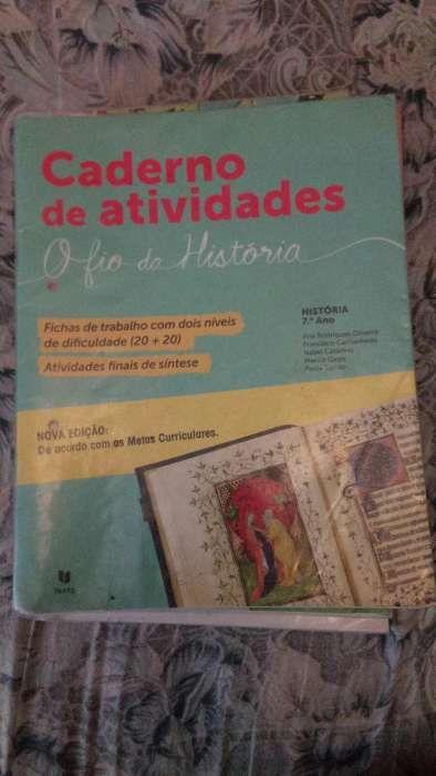 O fio do estudo caderno de actividades do 7ano