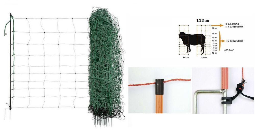Cerca eletrica para ovelhas cabras cães galinhas coelhos entre outro