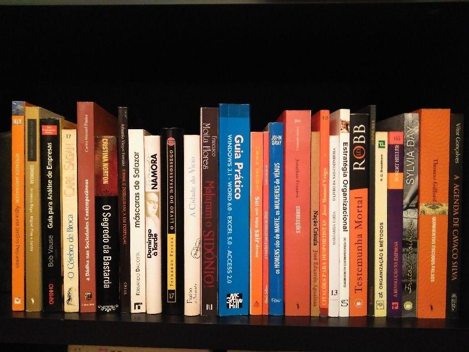 Livros em excelente estado - vários preços