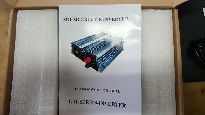 Inversor de rede 500w 24v Fernão Ferro - imagem 1