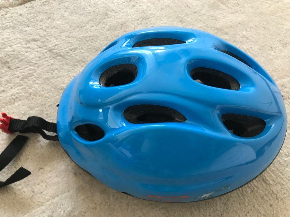 capacete para bicicleta pains KiDDY BAsic - Decathlon