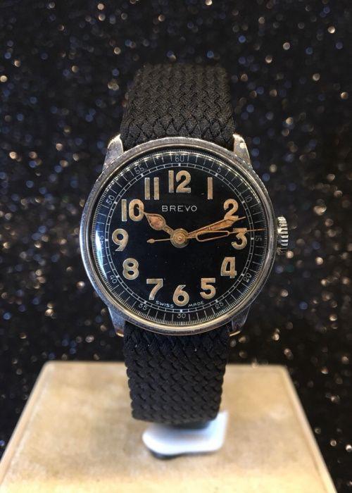 34177d8e63b Relógio Militar Brevo a corda