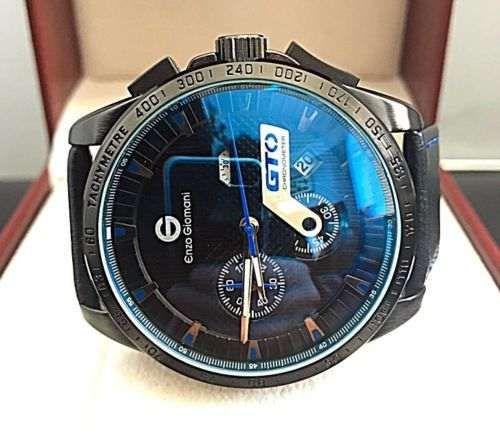 58b11231150 enzo giomani gto (relógio) black   com cronógrafo