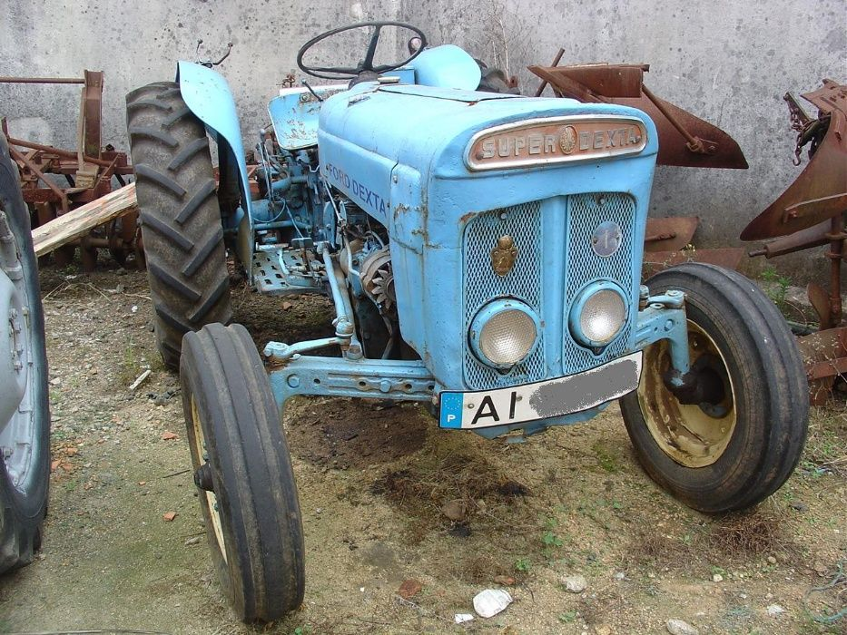 Tractor Ford Extra