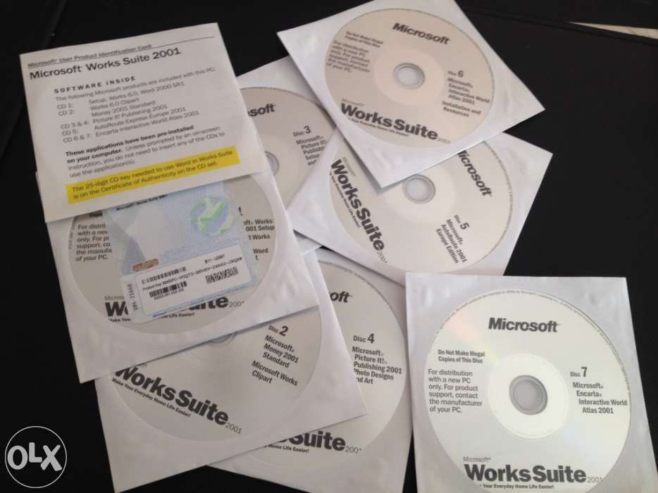 Microsoft works suit original e completo