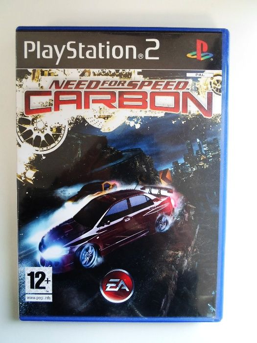 Jogo PlayStation 2 // Need For Speed Carbon