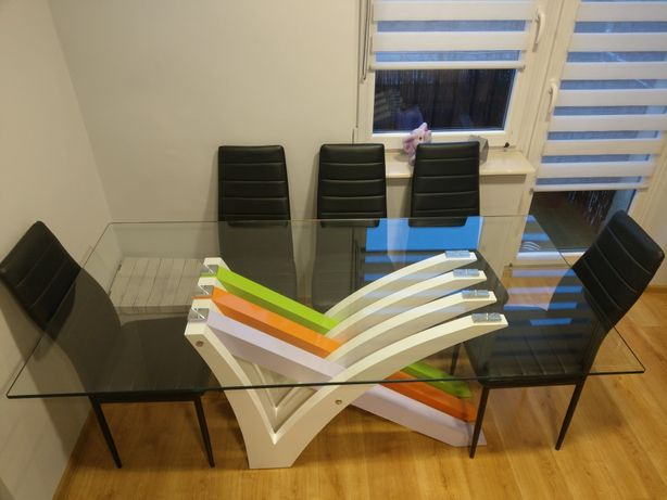 krzesła knurów olx