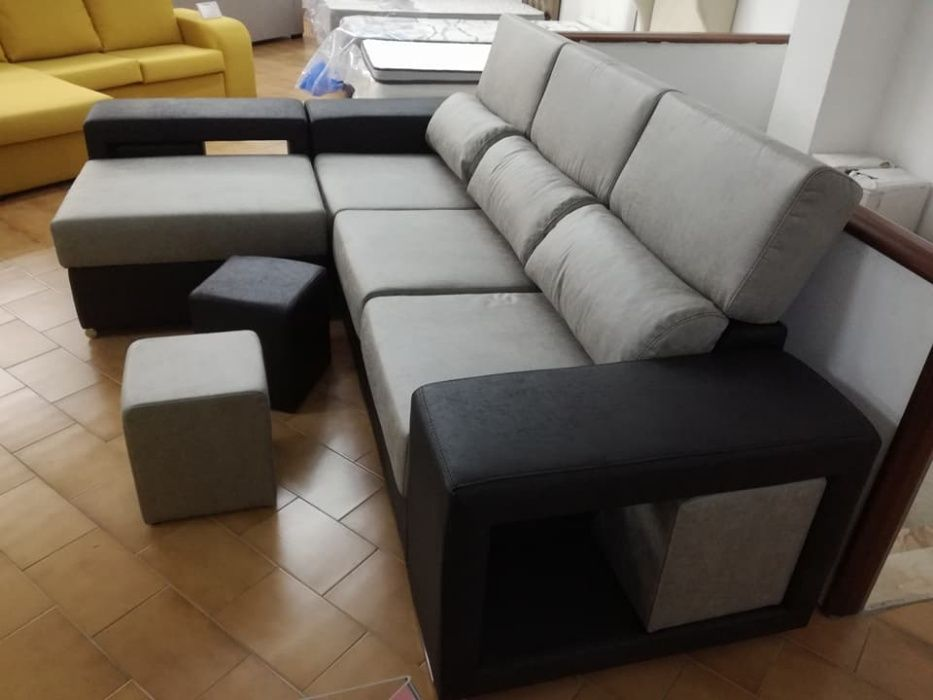 Sofá Cordoba com 270 cm, novo de fábrica chaise longue reversível Malveira E São Miguel De Alcainça - imagem 4