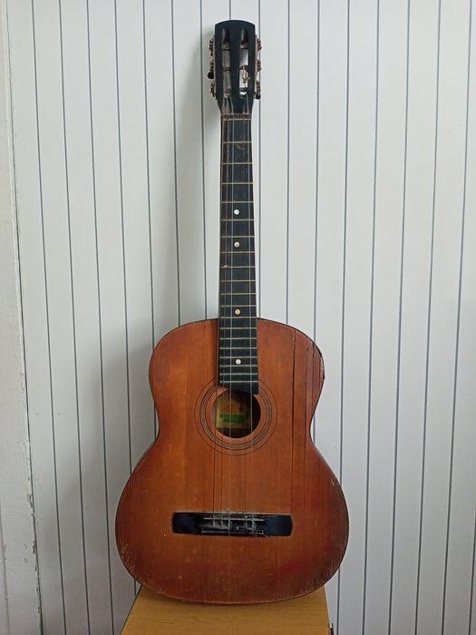 Гитара времён СССР Черниговская фабрика