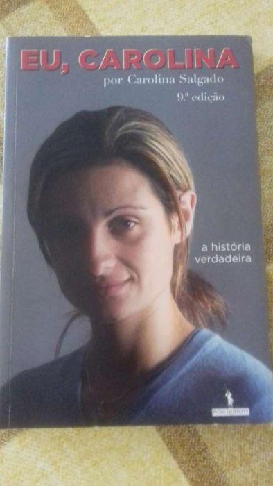 Livro Eu Carolina Carolina Salgado