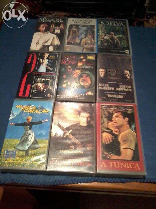 Filmes Clássicos e de Aventura - VHS