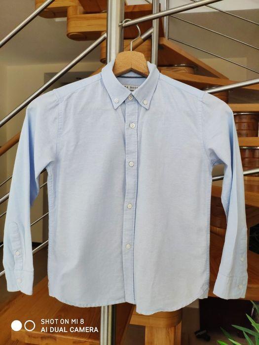 Koszula chłopięca niebieska marki Zara rozmiar 118 size 56  ktjRR