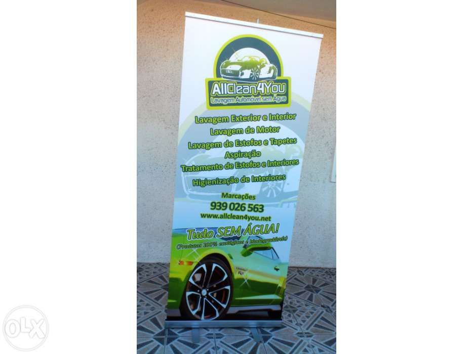 Expositor Roll-up 85x200cm