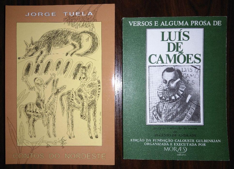 (4) Livros novos. Nordeste. Camões.