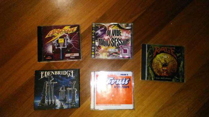 CDs de música variados