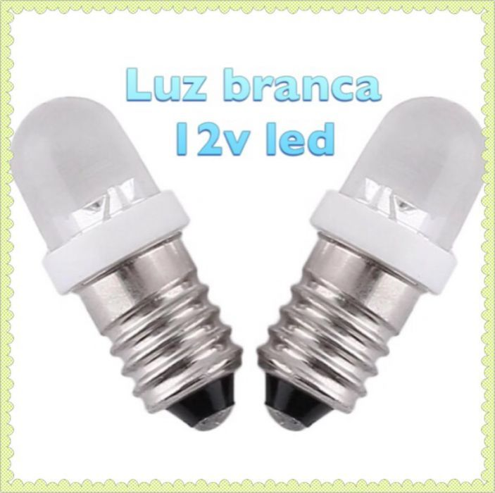 lâmpada e10 12v led novas valongo do vouga • olx portugal