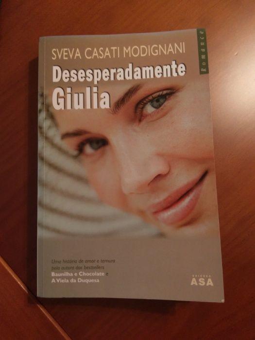 """Livro """"Desesperadamente Giulia"""""""