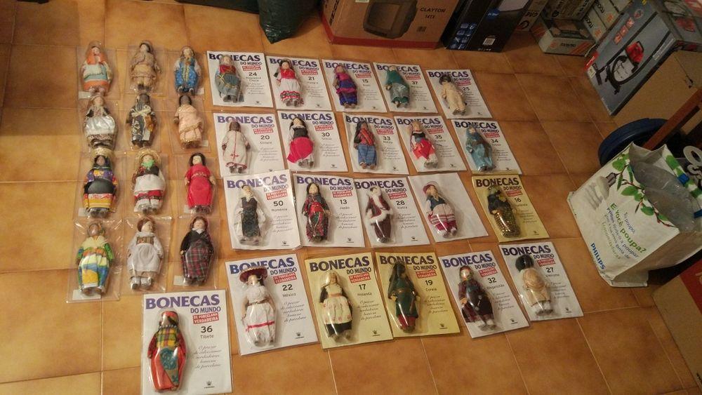 Bonecas do Mundo (duas 5€)