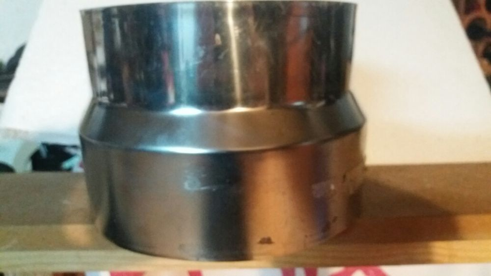 Adaptador redução Inox 180/200