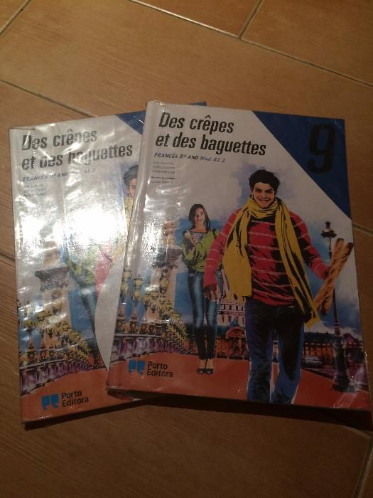 Manual escolar Françês 9º ano nível A2.2