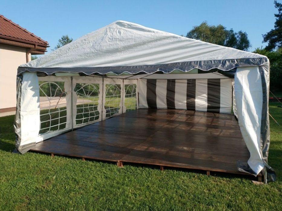 namiot bankietowy z przezroczystym dachem