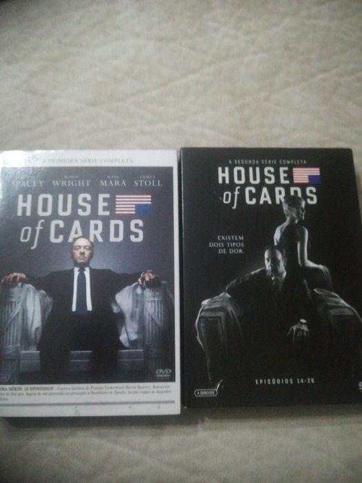 House cards 1 e 2 temporadas