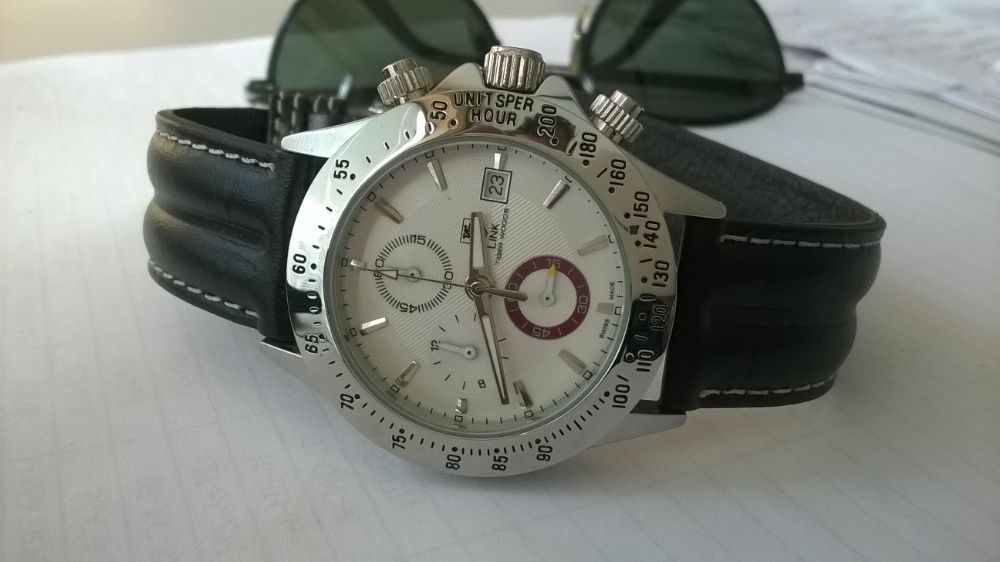 01f4798bdd7 Relogio TAG- chronografo Tiger Woods quartz Miranda do Corvo - imagem 4