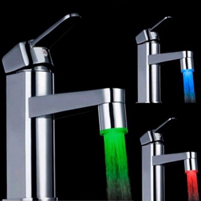 Luz LED para Torneiras - Novas, Elegantes e Super Baratas- Grande Moda