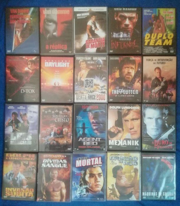 Lote 160 DVD'S originais (Lote 11)