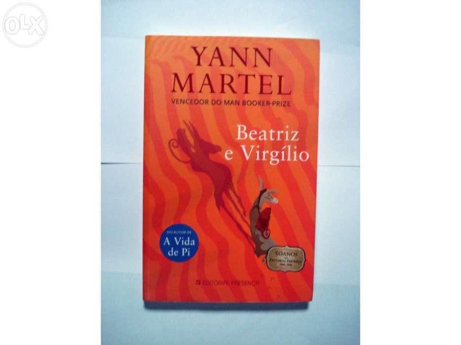 Livro Beatriz e Virgilio de Yann Martel