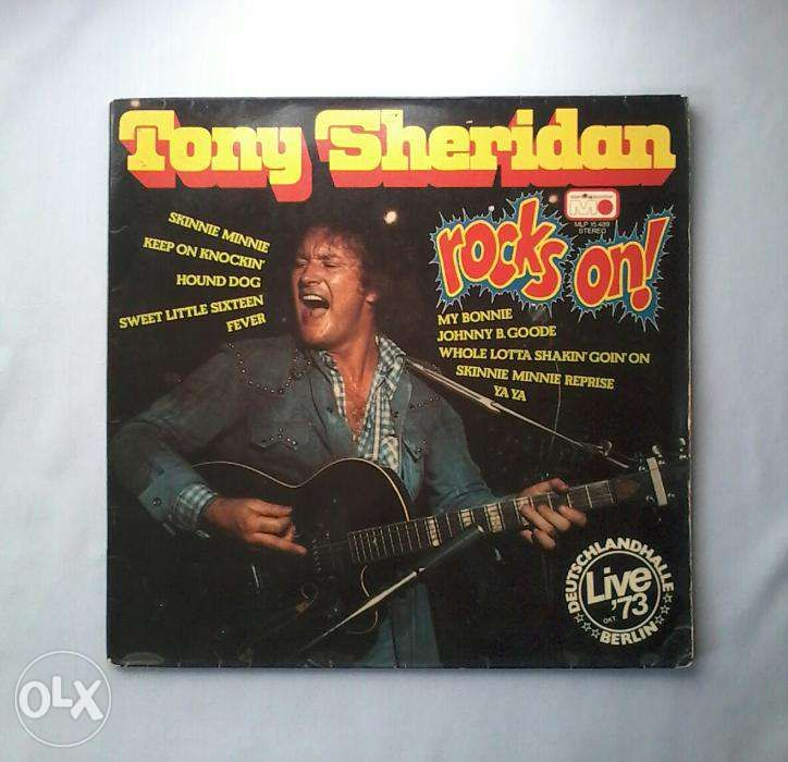 Tony Sheridan - Rocks On! Vinil LP