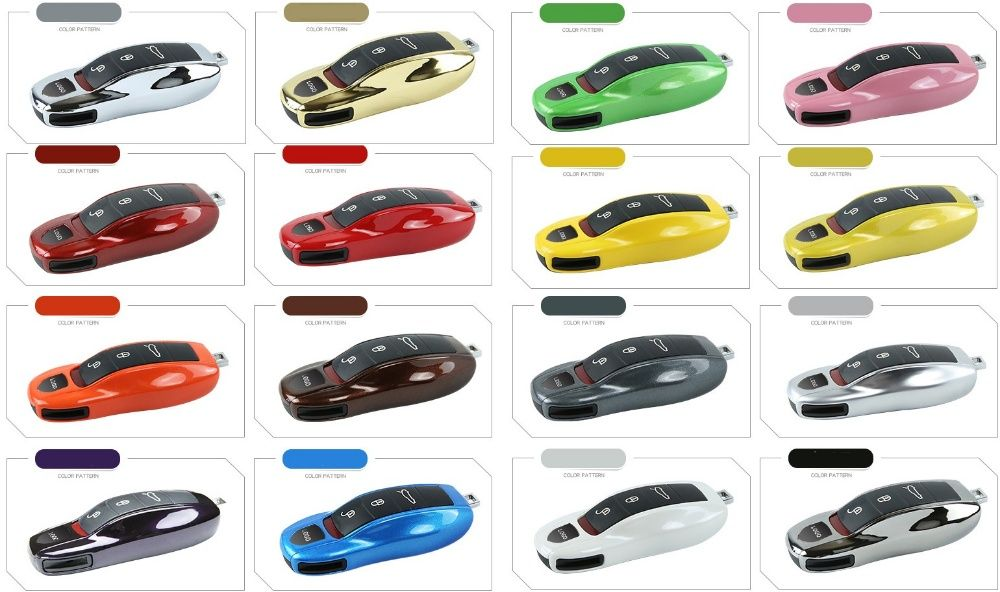 Боковая,центральная вставка для ключа Porsche Cayenne,Cayman,Panamera