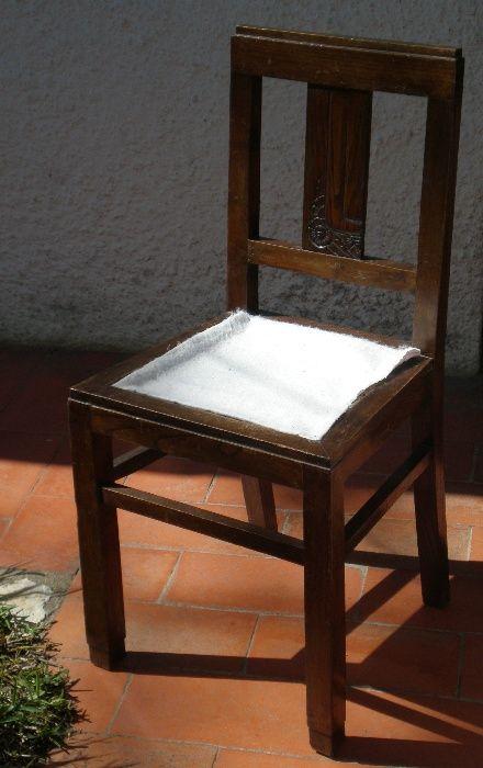 Cadeira Art Déco p/ estofar