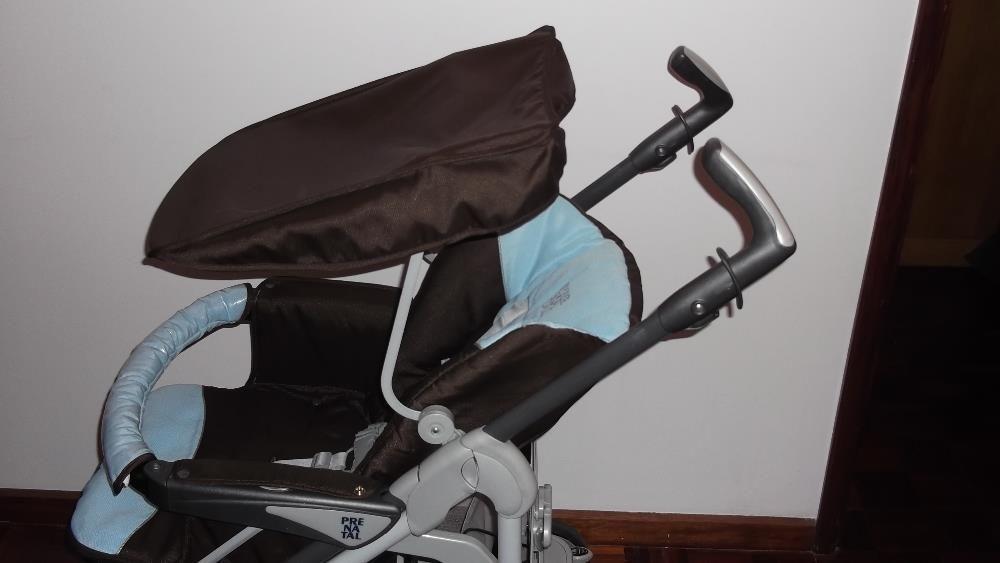 carrinho de bebé completo da marca Prénatal Vila do Conde - imagem 2