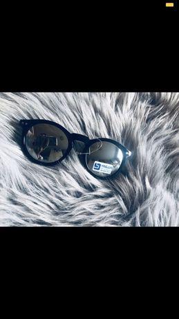 okulary enrico coveri damskie niebieskie