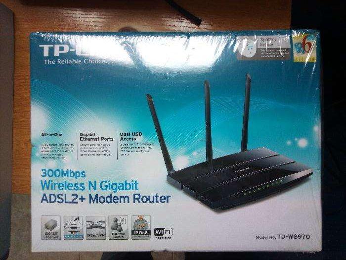 Mode/Router TP-LINK Wireless N Gigabit 300Mbps