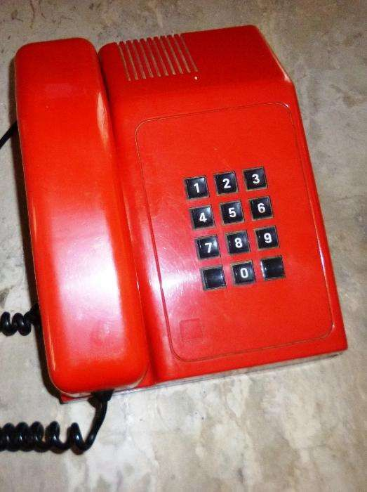 telefone fixo vintage