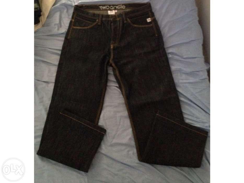 2750ce7360 Vendo calça jeans da marca two angle. Faro (Sé E São Pedro) • OLX Portugal